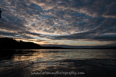 Sunset Reflection in Tofino (Ataman Photography) Tags: ocean sunset cloud canada mountains reflection reflections sand nikon bc britishcolumbia vancouverisland tofino d750 28 f28 2470 nikon2470mmf28