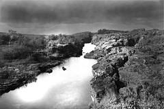 Milky water. ingvellir (Steini Jns) Tags: white black water lava iceland ingvellir tingvellir