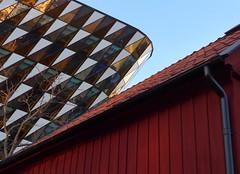 Solna / Sweden (staffangreen) Tags: city color sweden stockholm norden skandinavien hdr hus solna färg arkitektur moln karolinska 2015 hdrstockholm iphone6