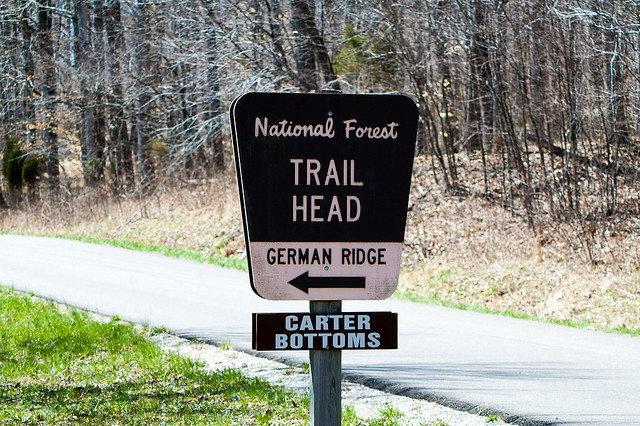 Hoosier National Forest - German Ridge Recreation Area - March 28, 2015
