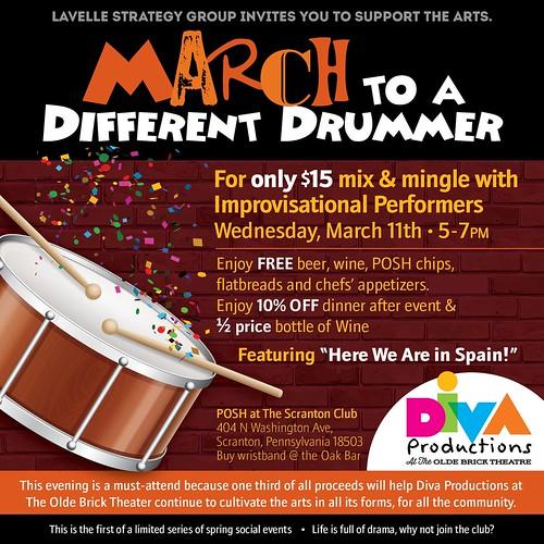 March Diva fundraiser