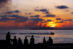 Villingili Sunset (uvaisjm - Al Seylani Photography) Tags: sunset male nature skyscape dusk silhouettes maldives villingili