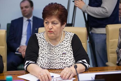 Заместитель председателя Комитета Совета Федерации по социальной политике Людмила Козлова