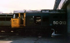 50013 Old Oak Common 24/03/89. (37260 - 4.5 million+ views, many thanks) Tags: old oak oc common 50013 240389