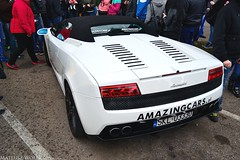 Lamborghini Gallardo LP560-4 Spyder (Mateusz Woek) Tags: boss cars ford chevrolet car focus nissan parking fast 7 camaro 427 bmw premiere mustang gt a4 audi katowice lamborghini rs avant 44 furious 302 gallardo punkt kato gtr nismo roush premiera fastfurious szybcy wciekli