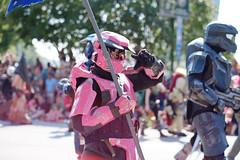 Pink Chief (Sean Davis) Tags: atlanta halo parade dragoncon masterchief bodyarmor