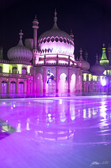 Royal Pavilion Ice Rink (Jethro ~ C.P.C) Tags: ice night brighton rink pavilion