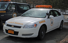 New York State Park Police and Park Rangers (zamboni-man) Tags: blue red white 3 black ford fire amber code saratoga tahoe police chevy albany pierce signal ems federal kme whelen schenedity