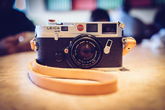 The famous work horse. (Chaustersaurus) Tags: leica old classic film vintage sony granddaddy m6 a7 workhorse