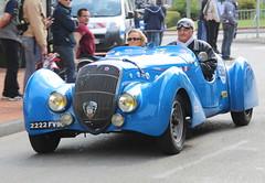 20140501 Brignais Rhne - 100 ans du GP de Lyon - Peugeot 302 Darl'mat -(1937)-001 (anhndee) Tags: france frankreich rhne classiccars rhonealpes brignais voituresanciennes gpdelyon