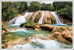 Cascades Aqua Azul  - Cascadas Aqua Azul (captimages13) Tags: mexico waterfall cascades palenque mexique cascade cascadas aquaazul captimages