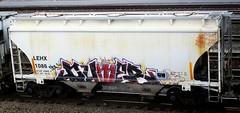 dumer (timetomakethepasta) Tags: train graffiti scum hopper freight ceda dumer krime lehx