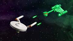 Star Trek (-derjoe-) Tags: classic trek buch star lego joe klingon heel enterprise ncc der joachim warbird klang tos 1701 derjoe