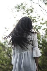 IMG_9881 (aishejonelle) Tags: trees flower tree nature girl female hair outdoors long child outdoor portait fresh curly preraphaelite