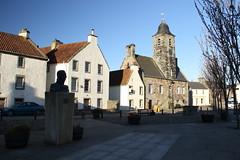 Culross, Fife (Paul Emma) Tags: uk sunset river scotland fife forth culross firthofforth riverforth