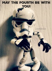 May 4th! (Lawdeda ) Tags: storm trooper wednesday fun toy star zombie wars picmonkey