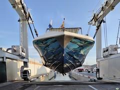 Colgada (juantiagues) Tags: puerto barco canoa juanmejuto juantiagues