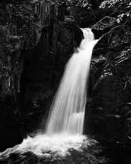 Waterfall in slow exposure (kearnaburroughs1) Tags: urban abstract nature monochrome forest countryside nikon outdoor wildlife perspective lakedistrict adventure explore waterfalls hiker derwentwater keswick countrylife slowexposure urbanphotography bagpacker outdoorphotography nikond3100