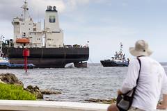 IWR-Curacao-090316 (Indavar) Tags: street bridge people fishing market curacao tugboat oldlady caribbean tug curaao curazao caribe