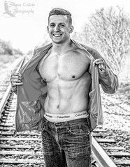Model Aldin (Shawn Collins Photography) Tags: shirtless smile muscles model arms modeling masculine muscular chest handsome health fitness abs built fit fitnessmodel