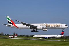 A6-EGY                B777-300ER.              EK161.         777 Vs ATR vs A330 (Gormanston spotter) Tags: emirates atr atr72 b777 deltaairlines eidw a330243 art72 n821nw oyrug