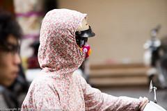 Pollution Protection - Hanoi Street Scenes (Pexpix) Tags: hanoi nikondf vietnam hni  nikkoraf85mmf14d