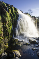 Loup Of Fintry (stmonicasway photo stream) Tags: sky green water clouds scotland images waterfalls fells stirlingshire campsie scottbroadley scottbroadleyyahoocom