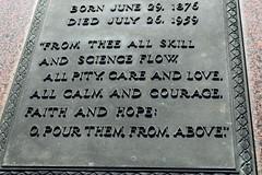 All Skill and Science (MTSOfan) Tags: grave memorial headstone hymn epitaph gravemarker 1871 enscription charleskingsley allskillandscience