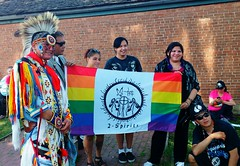 2-Spirits (Georgie_grrl) Tags: toronto ontario rainbow community energy dancing flag smiles culture celebration explore inclusive fortyork lgbtq 2spirits namerespowwow indigenousartsfestival hostedbythemississaugasofthenewcreditfirstnation