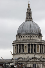 St. Paul's Cathedral, London (IFM Photographic) Tags: img8778a canon 600d sigma70200mmf28exdgoshsm sigma70200mm sigma 70200mm f28 ex dg os hsm london londonboroughofsouthwark southwark saintpaulscathederal stpaulscathederal saint st pauls cathederal cathedralchurchofpaultheapostle sirchristopherwren sir christopher wren englishbaroque baroque church catherdal