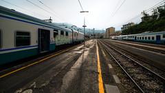 La Spezia Centrale (f_bertilsson) Tags: station train tren la italia liguria tracks railway terre cinque centrale spezia