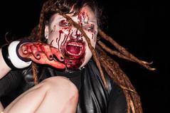 La Zombie all'Attacco (Alexthenewbe) Tags: blood italia cosplay zombie valle inside sangue magia 2016 daosta saintvincent