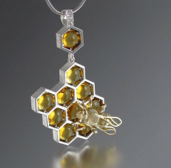 Honeycomb Jewelry By WingedLion (jh.siesta) Tags: jewelry honeycomb wingedlion