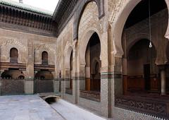Fes El Bali Morocco-Medersa Bou Inania.2-2016 (Julia Kostecka) Tags: morocco fes madrasa medersa feselbali medersaelattarine