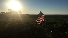 Adventure is out there (emilyformolo) Tags: americanflag american uppermichigan puremichigan