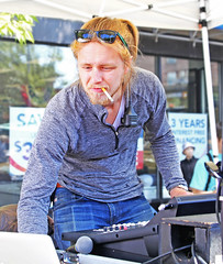 Sound Operator (sea turtle) Tags: sound tech techie jeans ginger smoker smoking cigarette gay pride seattle gaypride gayseattle gayprideseattle seattlepride capitolhill 2016 festival pridefestival pridefest gaypridefestival lesbian les bi bisexual trans transgender celebration party fest