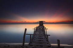 Mega Maiga (by nelzajamal) Tags: longexposure sunset sunrise island malaysia slowshutter sipadan sabah mabul singhray leefilter maiga singhrayfilter nelzajamal islandphotosafari
