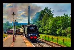 The City of Wells (Kevin From Manchester) Tags: england train tracks steam lancashire railwaystation hdr steamtrain ramsbottom canon1855mm eastlancashirerailway rawtenstall railwaylines kevinwalker canon1100d