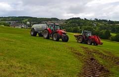 (Zak355) Tags: scotland farm farming scottish tractors bute rothesay isleofbute masseyferguson