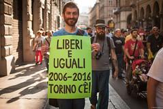 Human rights are my Pride (essenz_a) Tags: pride torino glbt turin gay lesbian humanrights torinopride2016 rainbow freedom street city arcoiris arcobaleno