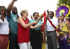 IMG_0173  Premier Kathleen Wynne participated in the Toronto Caribbean Carnival's Junior Carnival Parade. (Ontario Liberal Caucus) Tags: caribana scarboroughrougeriver hunter coteau thiru parade festival