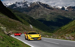 Timmelsjoch (D.N. Photography) Tags: ferrari f12tdf tdf f12 automotive auto automobile automobiles austria canon cars car mountain mountains alps austrian timmelsjoch road transportation vehicle vehicles eos exotic exotics 7d hochalpenstrasse worldcars