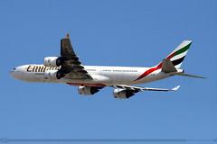 Emirates - Airbus 340-541 - A6-ERI (raihans photography) Tags: canon eos dubai uae emirates airbus ek dslr canondslr airbusa340 efs unitedarabemirates a340 dxb dubaiinternationalairport omdb a345 airbusa340500 a340541 canonefs 60d a6eri canonefslens canonefs55250mmf456is canonefs55250f456is canoneos60d raihans raihanshahzad raihansphotography