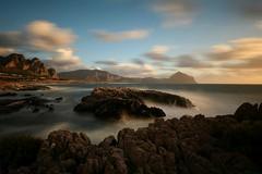 Golfo di Mcari (Trapani) #sicilia #sicily (errenne) Tags: sicily sicilia macari italy seaside longexposure lungaesposizione holiday sunset canoneos80d italia mare tramonto golfodimcari sanvitolocapo