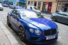 Bentley Continental GT V8 Glasgow 2016 (seifracing) Tags: bentley continental gt v8 glasgow 2016 seifracing spotting scotland services strathclyde scottish security emergency ecosse europe rescue transport traffic police polizei polizia britain brigade british