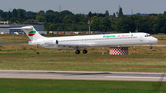Bulgarian Air Charter MD-82 LZ-LDJ (SjPhotoworld) Tags: germany deutschland rheinland dus eddl airport dusseldorf dusseldorfairport airliner aircraft lzldj bac bulgarianaircharter md md82 passenger passengerjet plane planespotting arrival touchdown runway canon challenge transport travel maddog mcdonelldouglas mcdonnell airplane airline airliners airlines