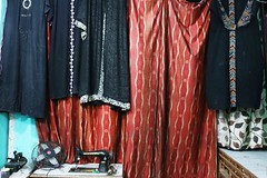The Bradford Edition of Jane Austen's Pride & Prejudice (Mayank Austen Soofi) Tags: delhi walla burqa jane the bradistan edition austens pride prejudice austen sewing amchine islam halal