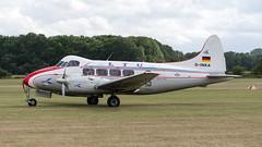 De Havilland DH 104 Dove (02) (Disktoaster) Tags: airport flugzeug aircraft palnespotting aviation plane spotting spotter airplane pentaxk1 dikur dinka dove