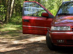 Citroën Xantia 2.0i 16V Activa (Skylark92) Tags: citroen xantia 20 activa red forest netherlands holland utrecht lage vuursche austerlitz 20i 16v 1996 zfvn52 outdoor vehicle car