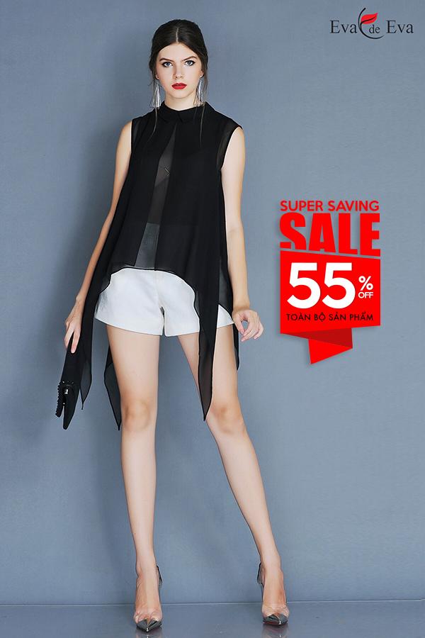 Eva de Eva 'Super Saving Sale' 55% giải nhiệt ngày hè